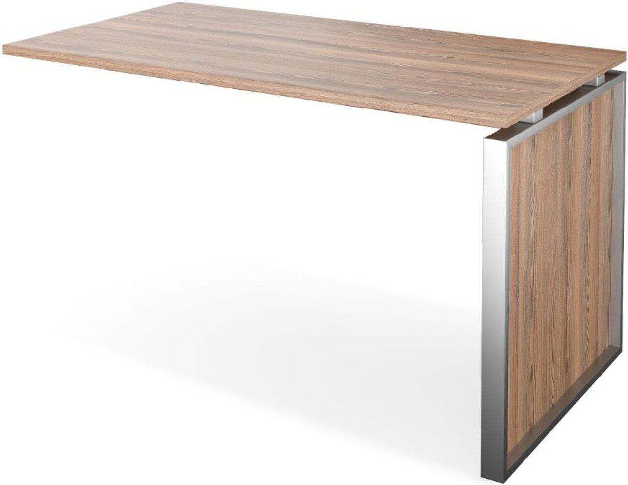 Конференц-приставка стола руководителя Аргентум 130x60x75 - фото 1