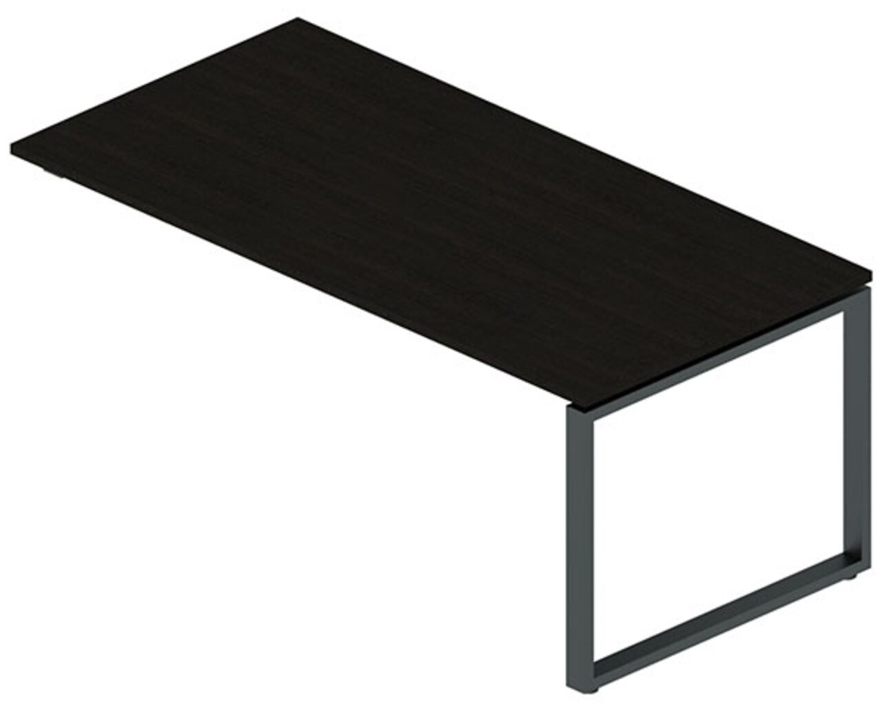 Стол с укороченной опорой под тумбу  Rio Direct 180x90x75 - фото 1