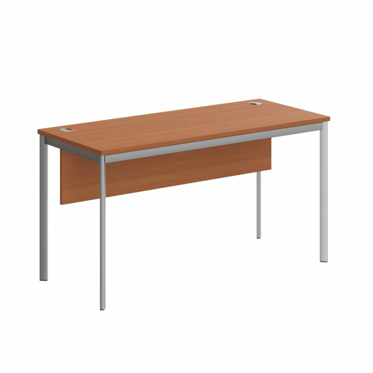 Стол прямой с фрональной панелью  IMAGO-S 140x60x76 - фото 1