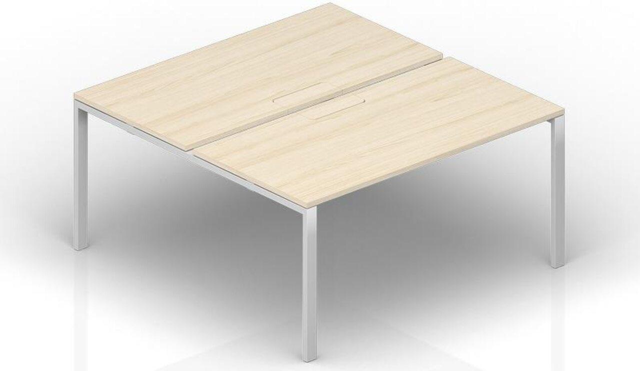 Составной стол на 2 рабочих места  Strike 120x165x72 - фото 1