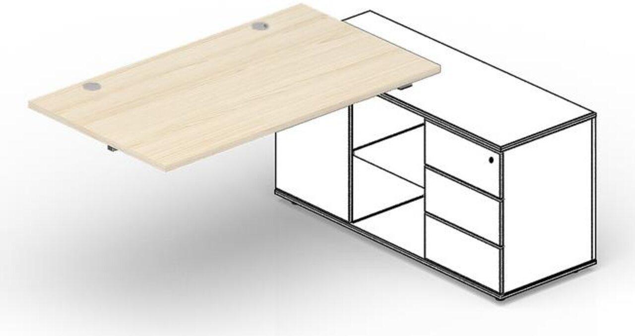 Стол для крепления к сервисной опорной тумбе  Strike 60x140x72 - фото 1
