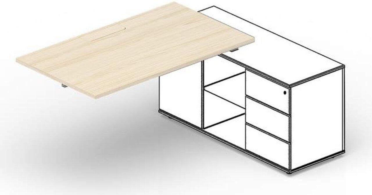 Стол для крепления к сервисной опорной тумбе  Strike 140x60x72 - фото 1