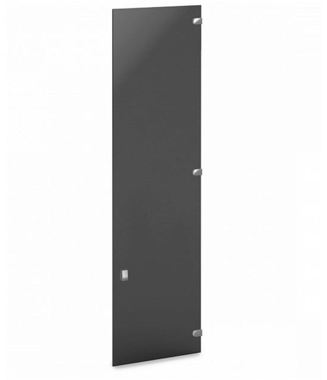 Дверь средняя стеклянная тонированная  Vasanta 1x41x141 - фото 1