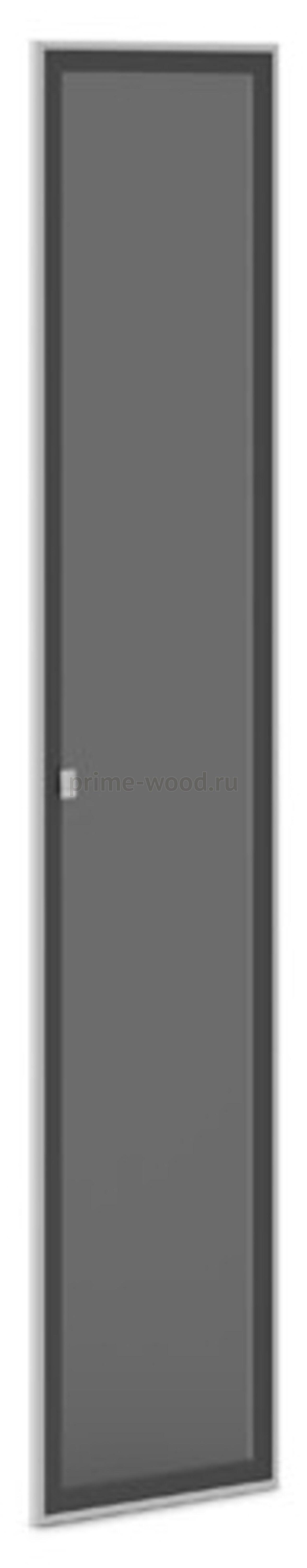 Двери стеклянные тонированные в алюминиевом профиле  Vasanta 41x2x211 - фото 1