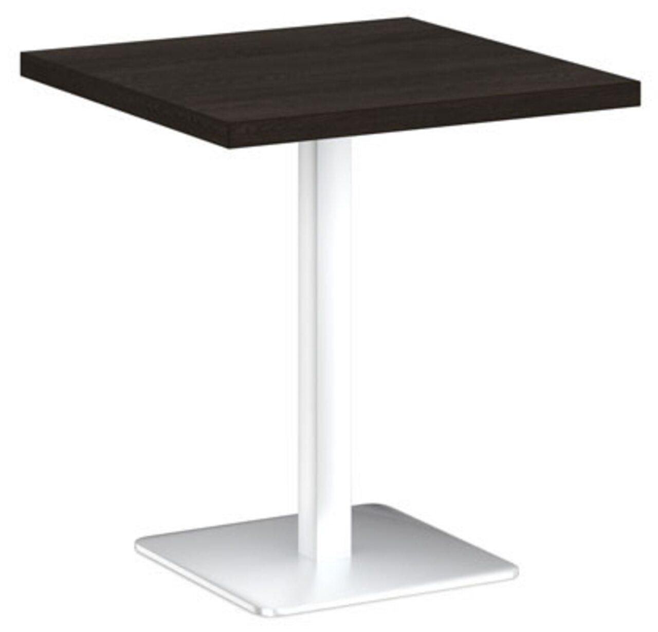 Стол на металлической опоре - фото 1