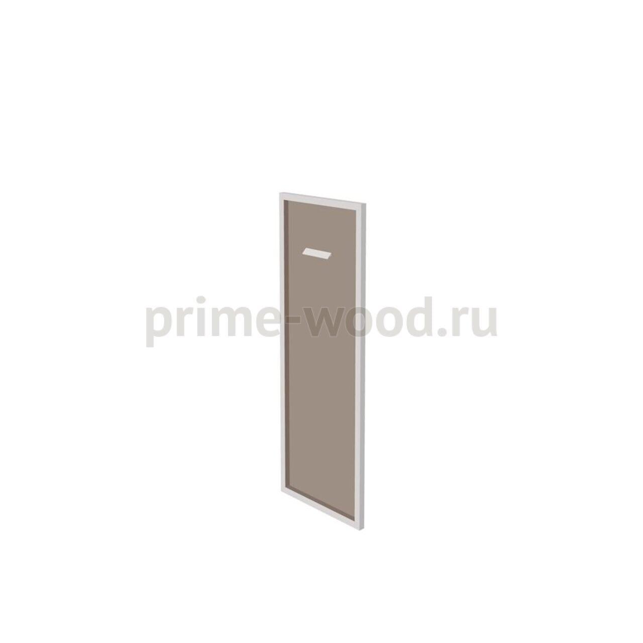 Дверь тонированная в раме  Бонд 44x2x122 - фото 1