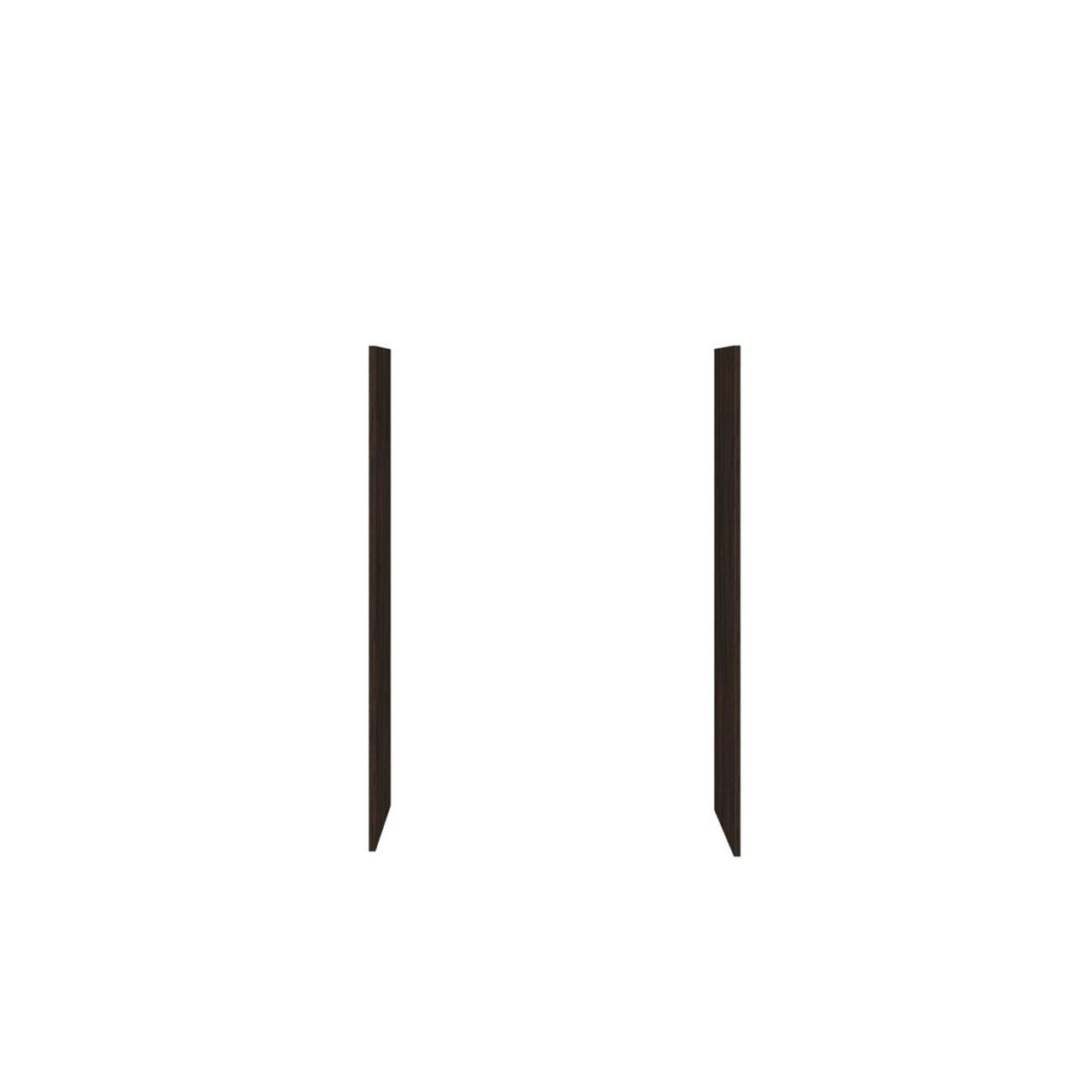 Панели боковые для стеллажей  Бонд 46x2x125 - фото 3