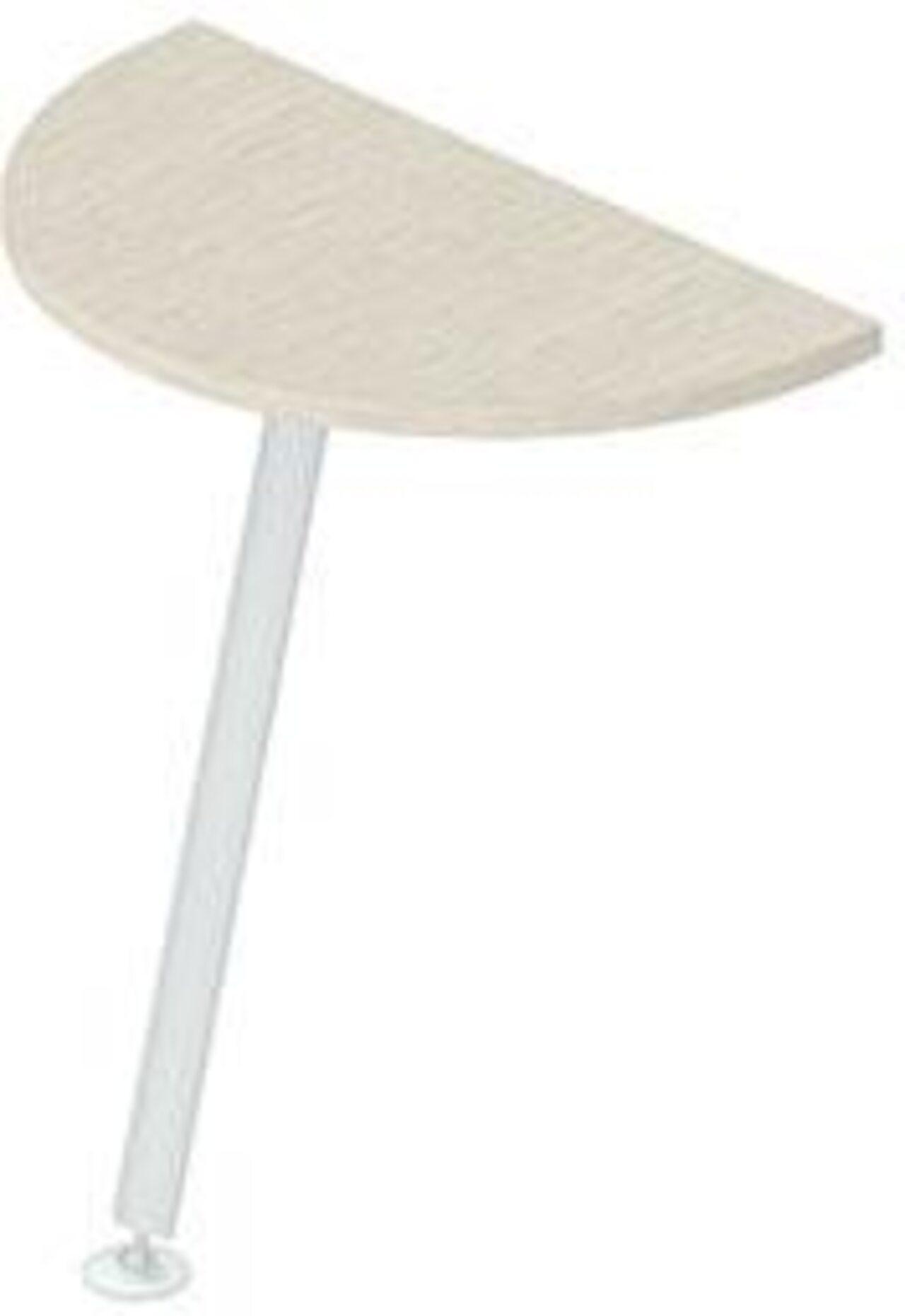 Приставка для прямых столов  Gamma (Гамма) 40x70x3 - фото 3