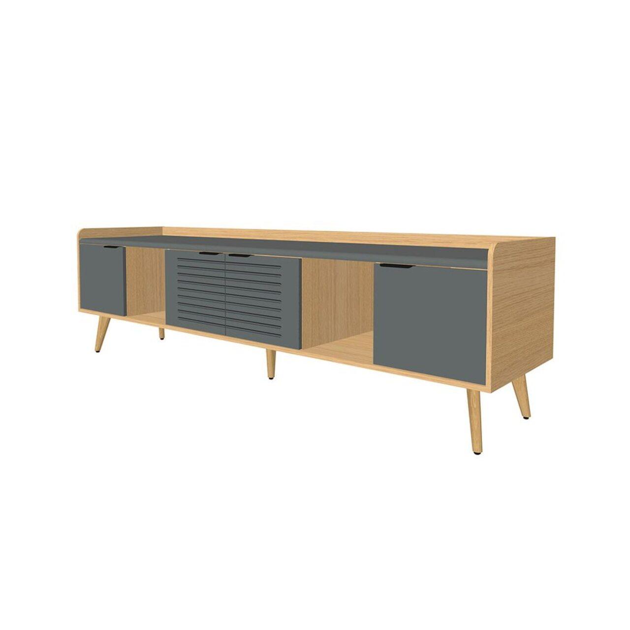 Тумба опорная для конференц-стола (3 отделения)  Remo 55x223x65 - фото 1