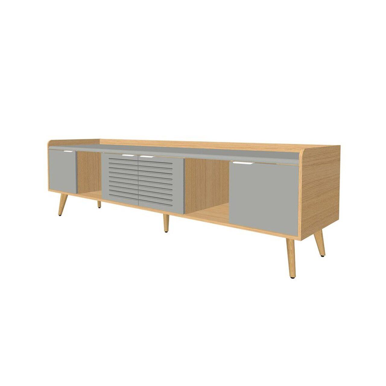 Тумба опорная для конференц-стола (3 отделения)  Remo 55x223x65 - фото 3