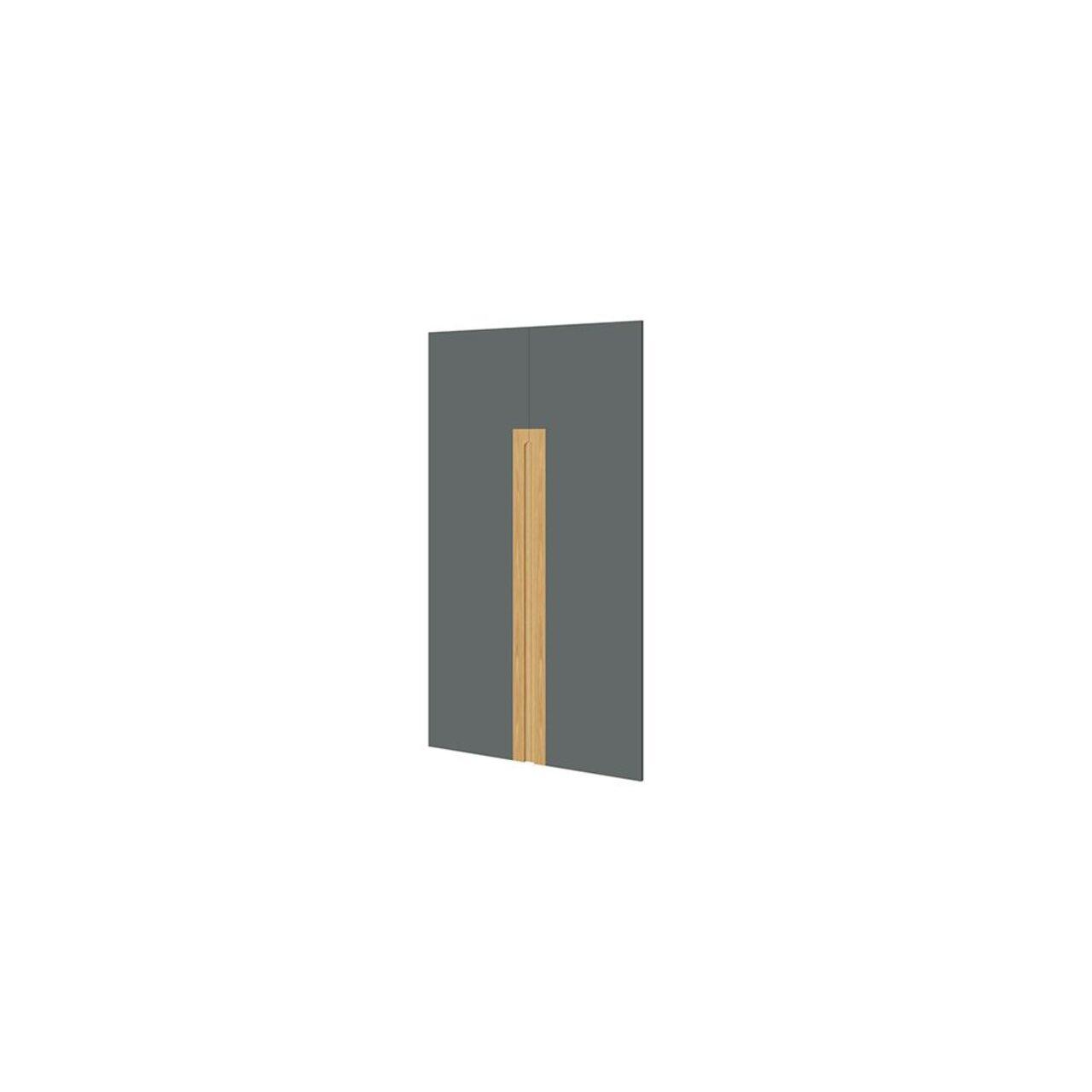 Комплект глухих средних дверей  Remo 2x80x144 - фото 1