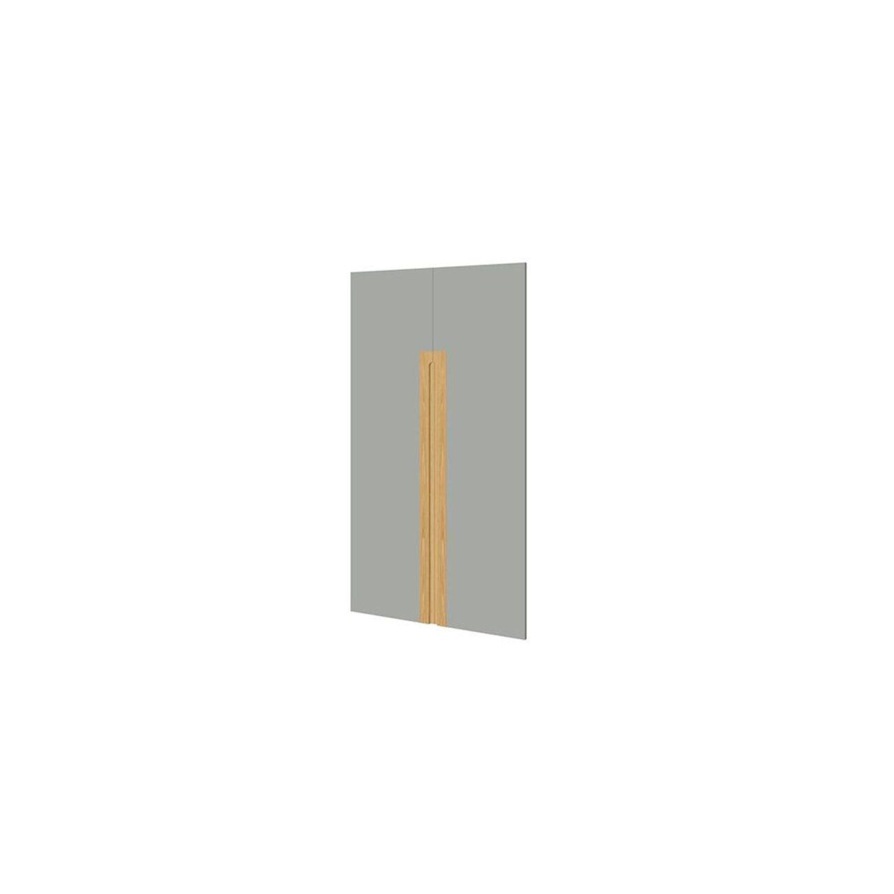 Комплект глухих средних дверей  Remo 2x80x144 - фото 3