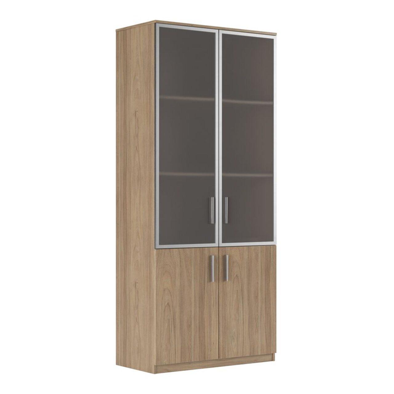 Шкаф для бумаг (древесный)  ASTI 90x45x205 - фото 1