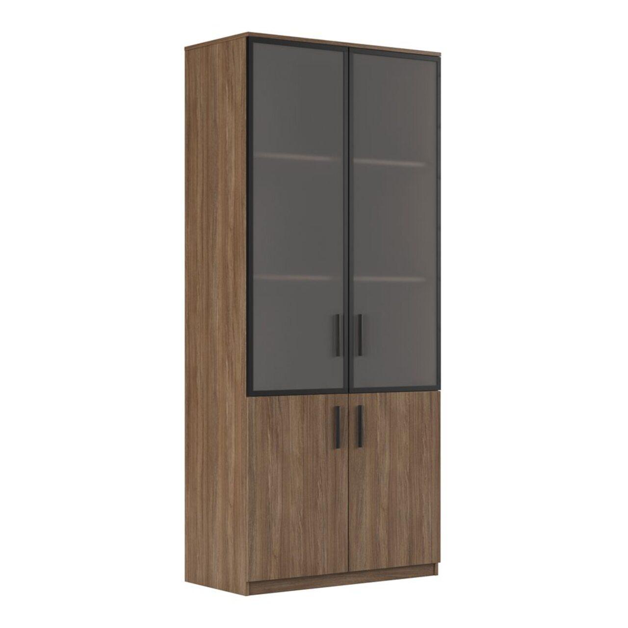 Шкаф для бумаг (древесный)  ASTI 90x45x205 - фото 3