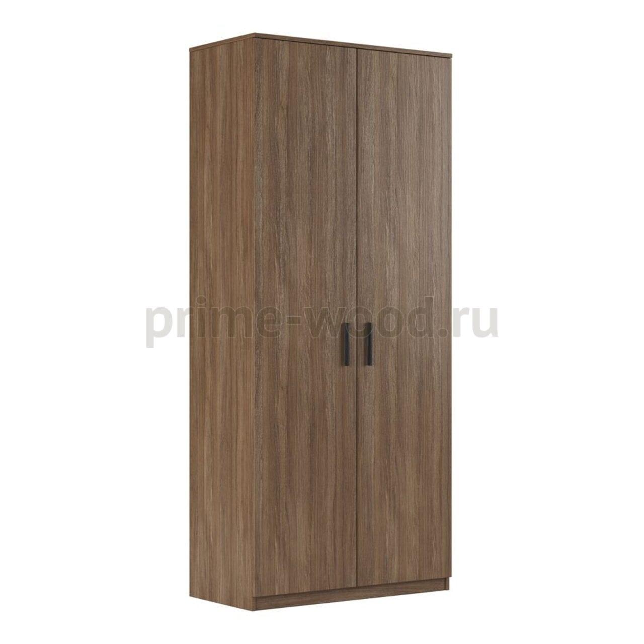Шкаф для бумаг глухой, древесный  ASTI 90x45x205 - фото 3