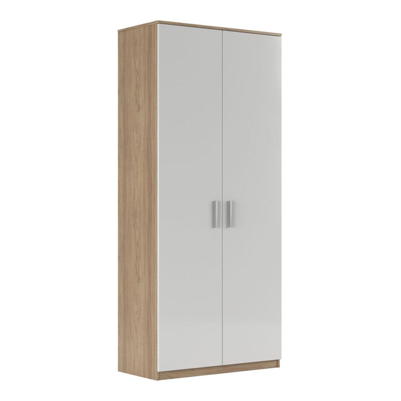 Шкаф для бумаг глухой (глянец)  ASTI 90x45x205 - фото 1