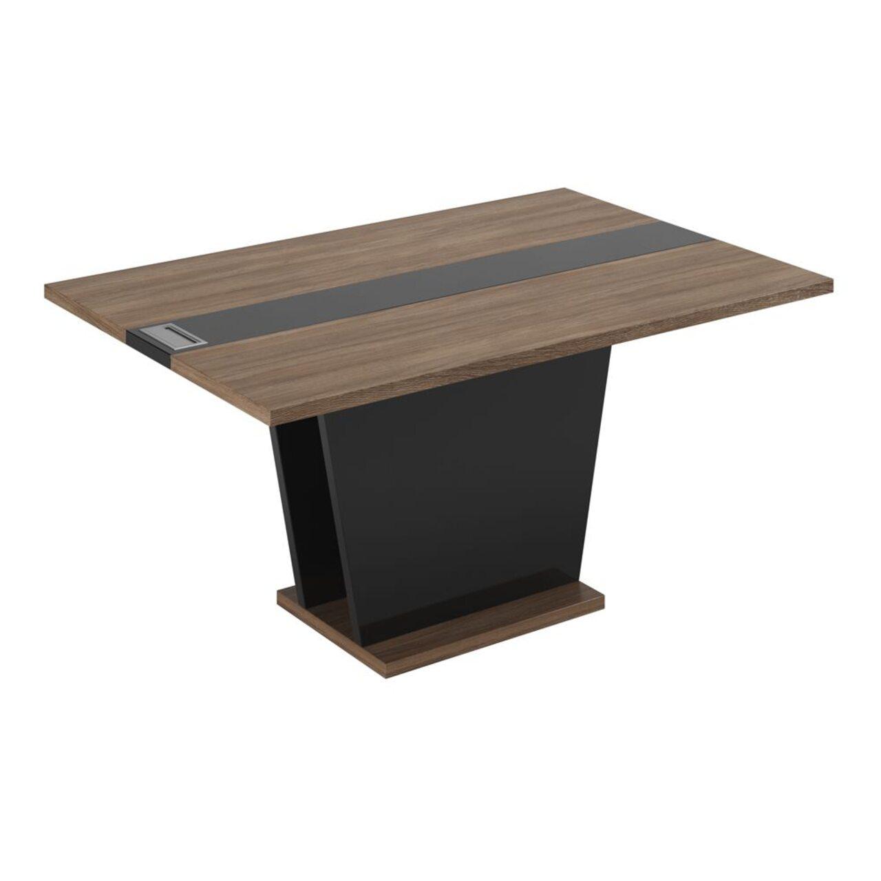 Брифинг-приставка / Элемент стола переговоров ASTI 140x100x75 - фото 3