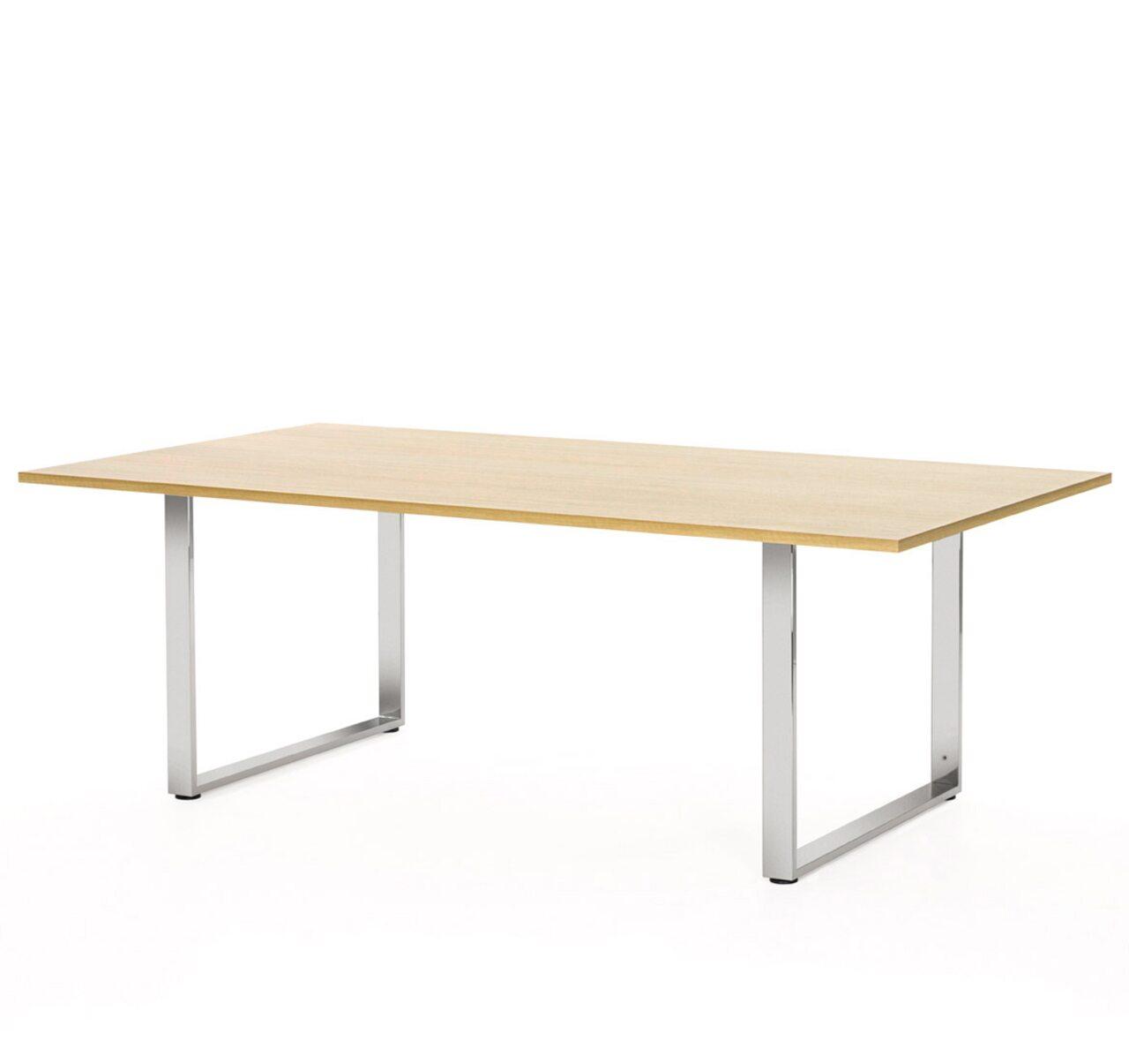 EXE Стол для переговоров (хром) Exe 220x120x76 - фото 3