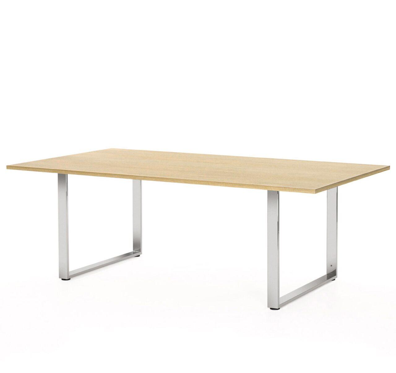 EXE Стол для переговоров (хром) Exe 220x120x76 - фото 4