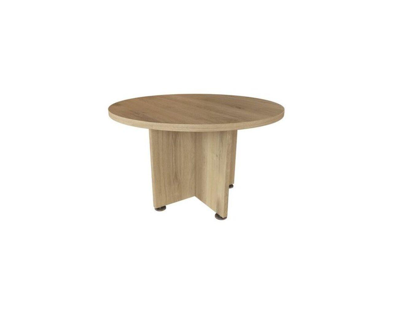 Стол для переговоров круглый Приоритет II 120x120x75 - фото 2