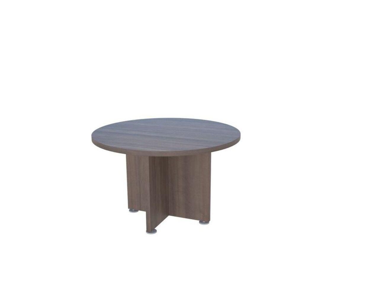 Стол для переговоров круглый Приоритет II 120x120x75 - фото 3