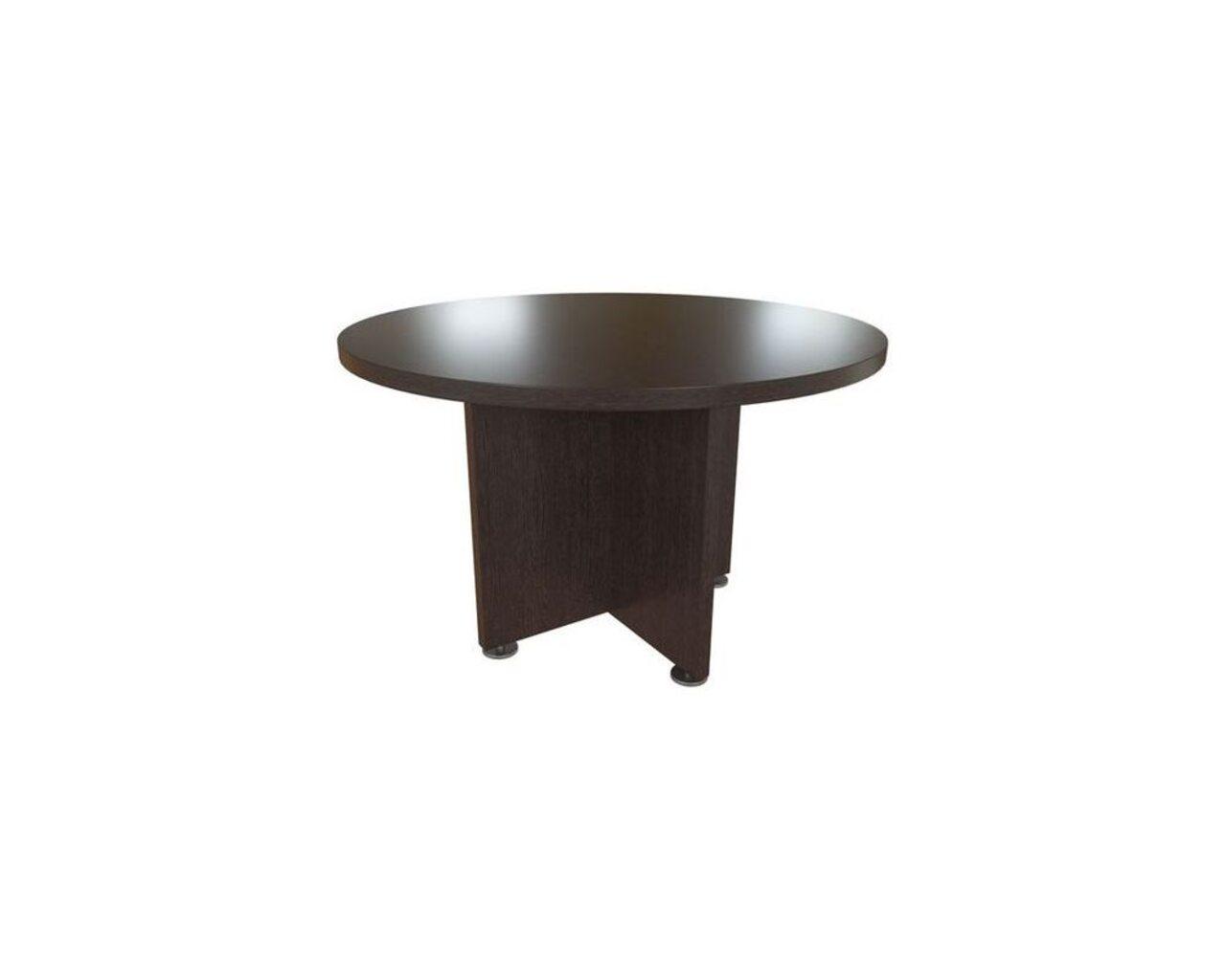 Стол для переговоров круглый Приоритет II 120x120x75 - фото 1