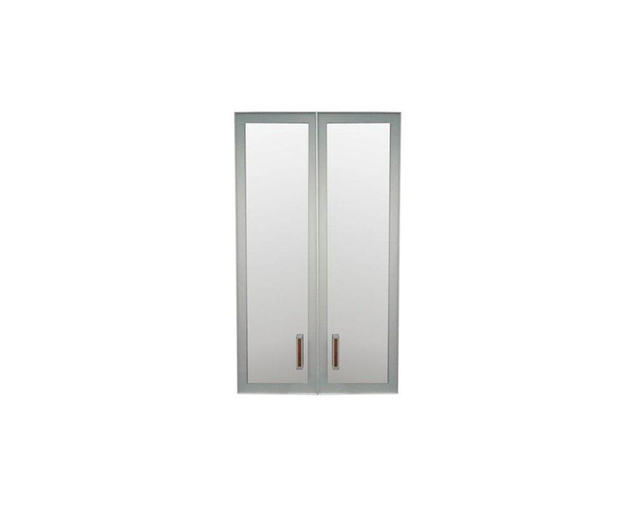 Двери стеклянные К-981 (дуб венге)  Приоритет II 72x2x117 - фото 1