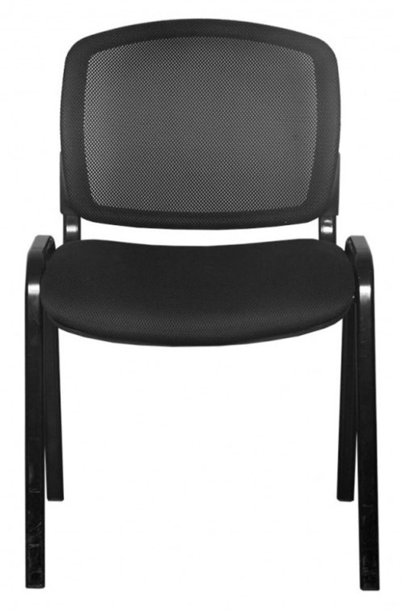 Стул для посетителя ISO NET BLACK - фото 5