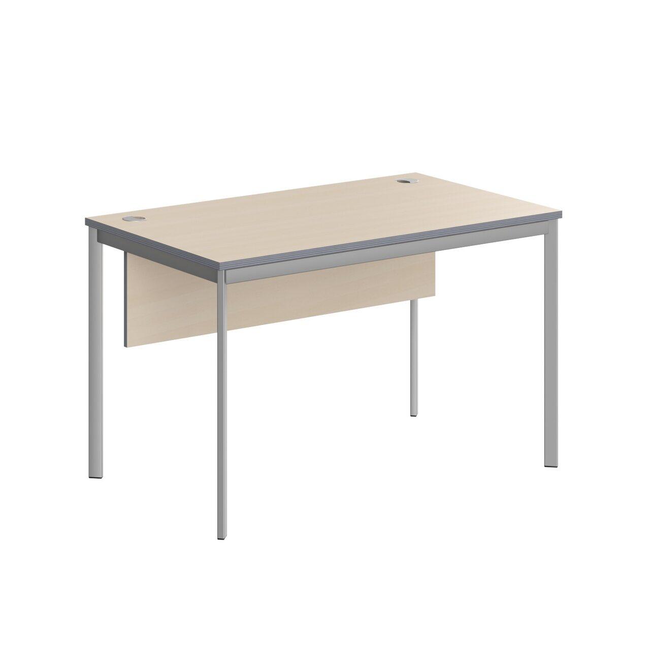 Стол прямой с фрональной панелью  IMAGO-S 72x120x76 - фото 5