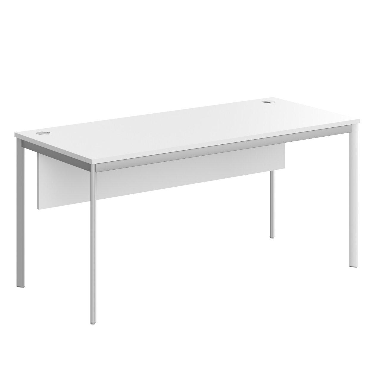 Стол прямой с фрональной панелью  IMAGO-S 72x160x76 - фото 2