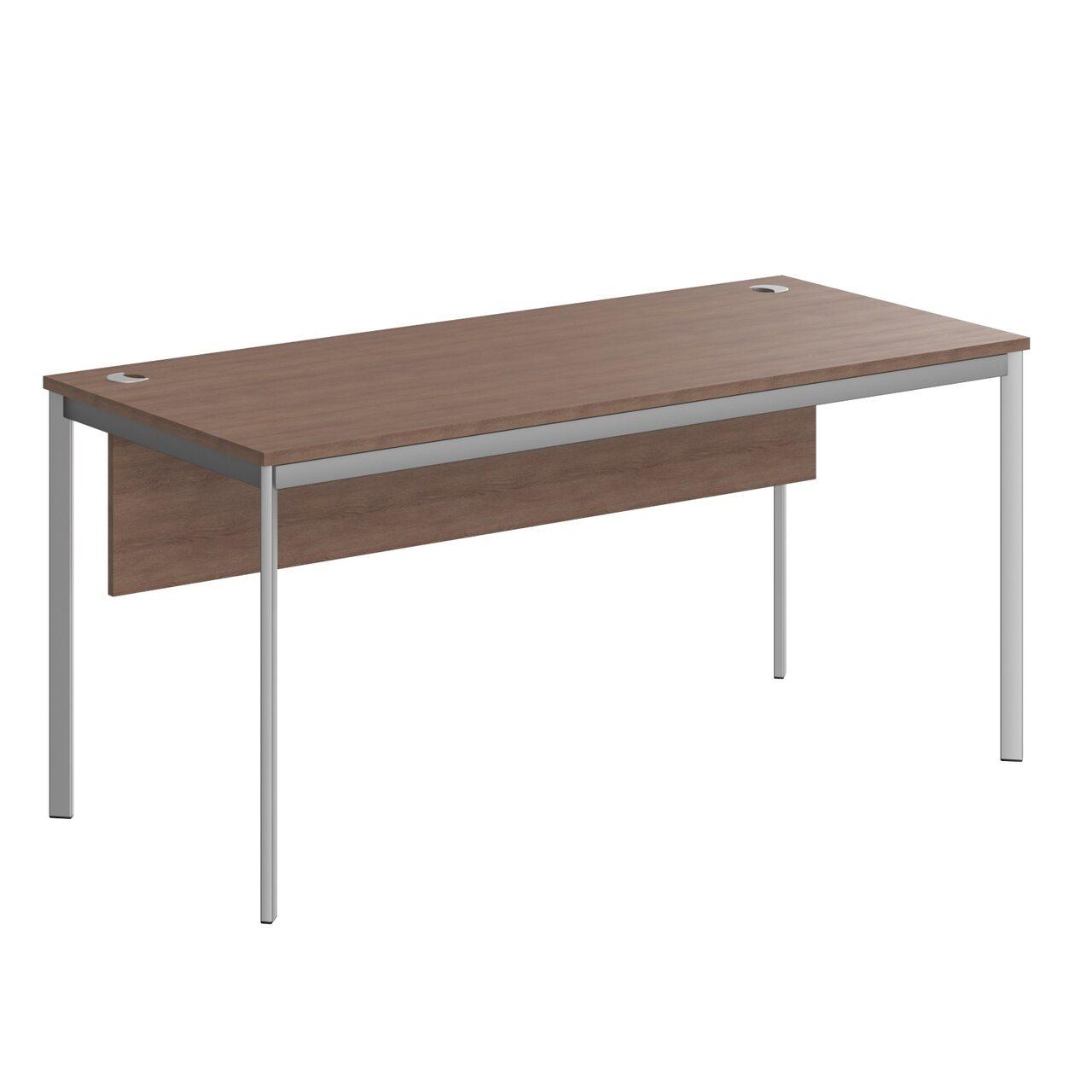Стол прямой с фрональной панелью  IMAGO-S 72x160x76 - фото 4