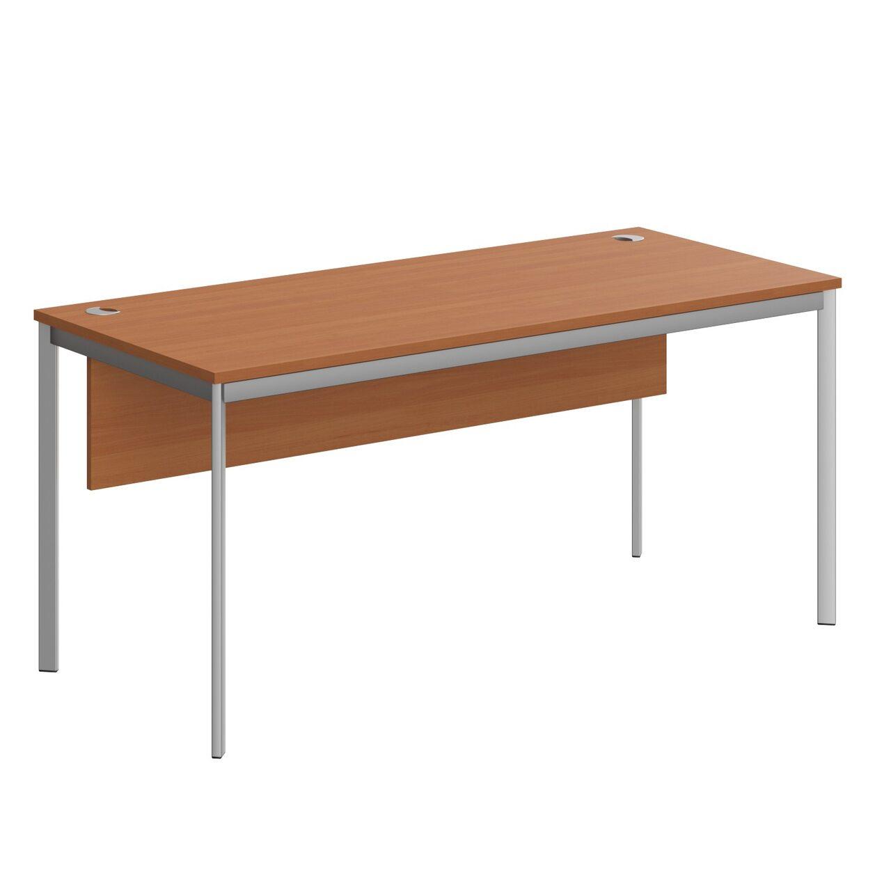 Стол прямой с фрональной панелью  IMAGO-S 72x160x76 - фото 6