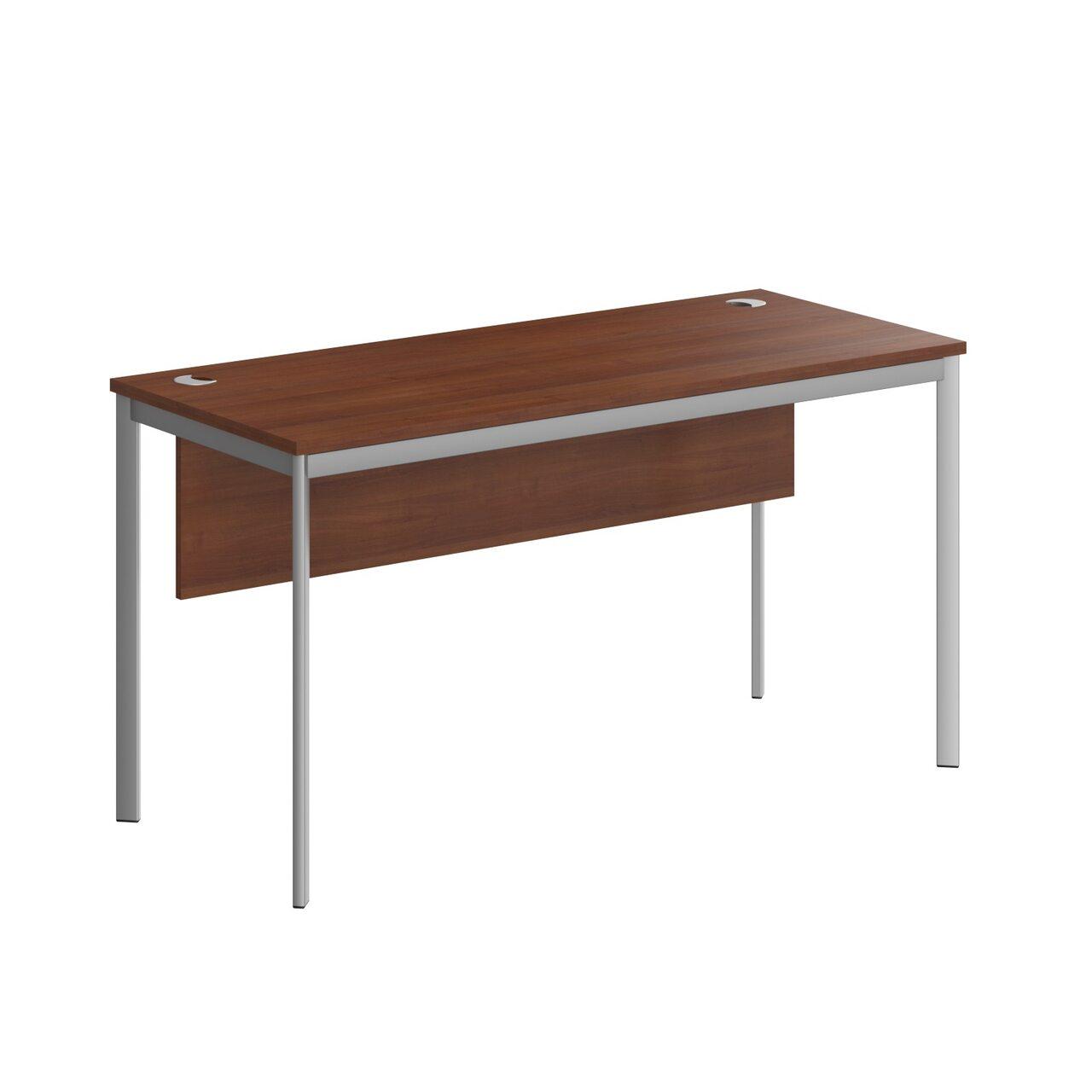 Стол прямой с фрональной панелью  IMAGO-S 140x60x76 - фото 7