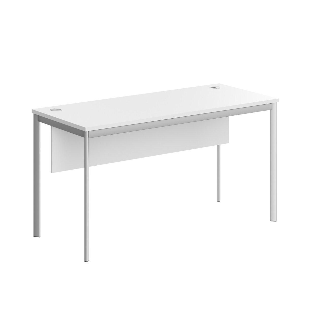 Стол прямой с фрональной панелью  IMAGO-S 140x60x76 - фото 2
