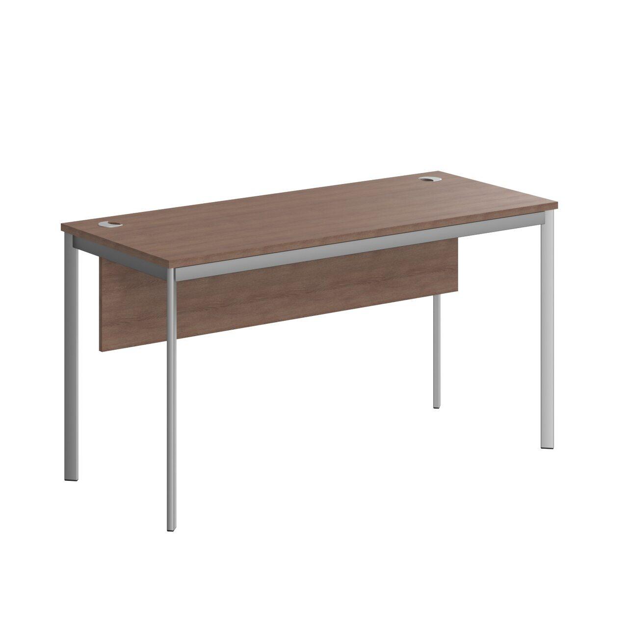 Стол прямой с фрональной панелью  IMAGO-S 140x60x76 - фото 4