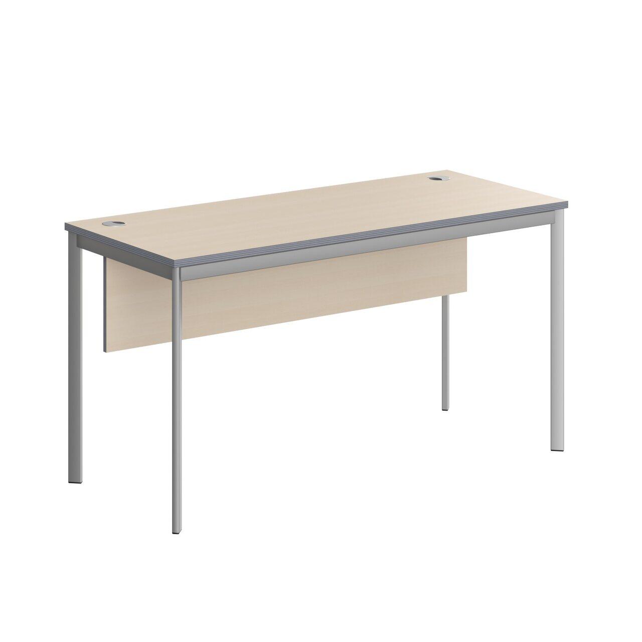 Стол прямой с фрональной панелью  IMAGO-S 140x60x76 - фото 5