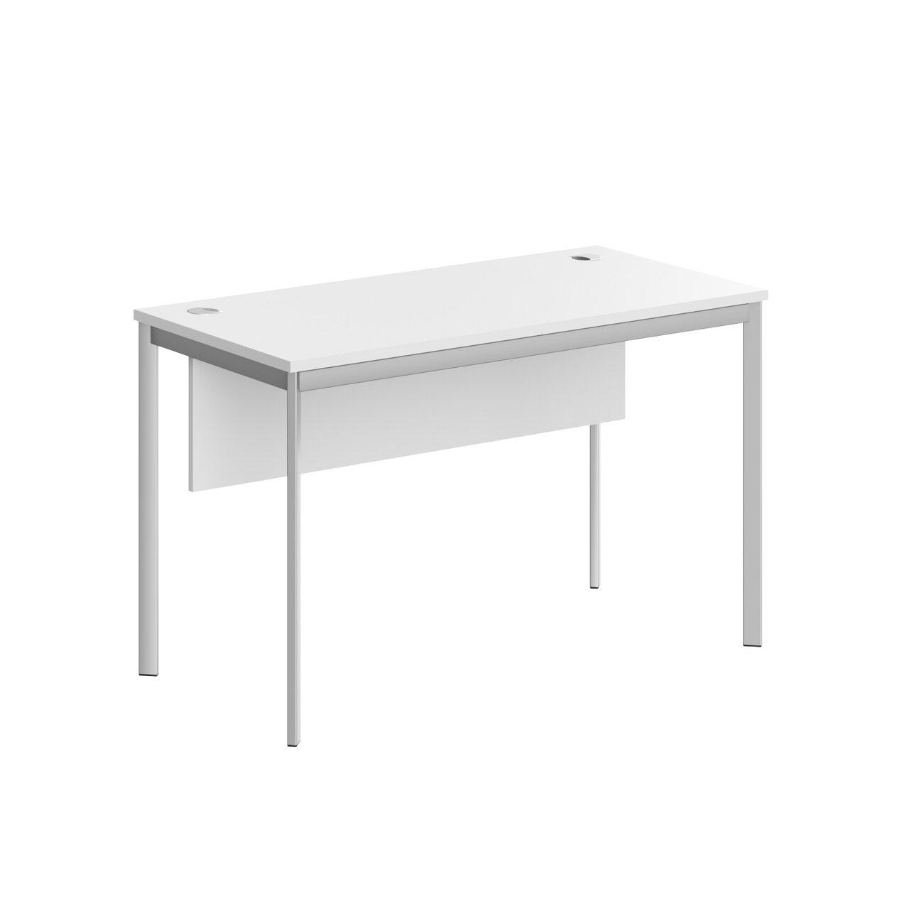 Стол прямой с фрональной панелью  IMAGO-S 120x60x76 - фото 2