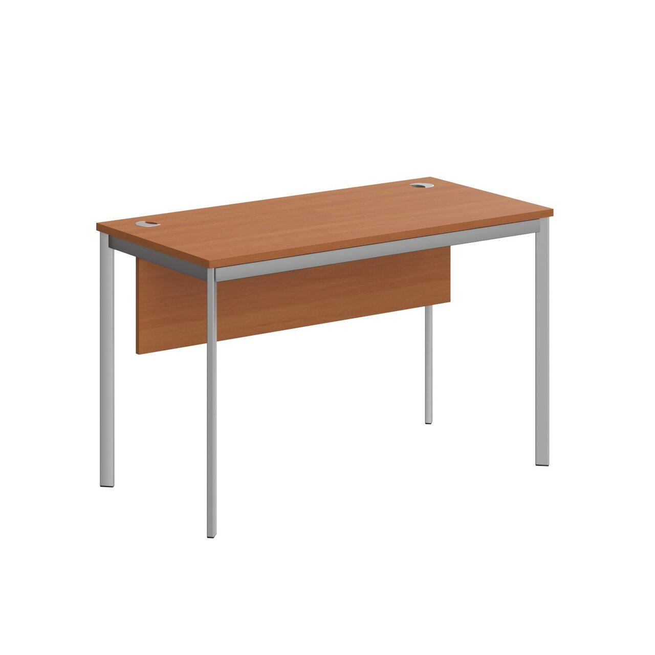 Стол прямой с фрональной панелью  IMAGO-S 120x60x76 - фото 6