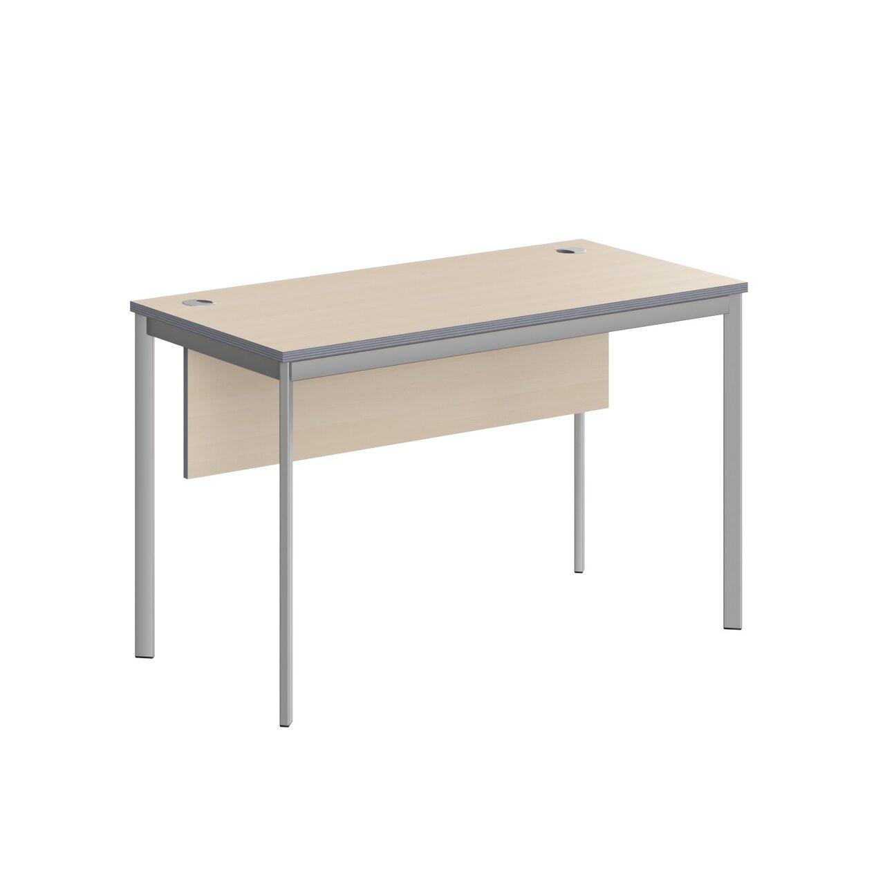 Стол прямой с фрональной панелью  IMAGO-S 120x60x76 - фото 5