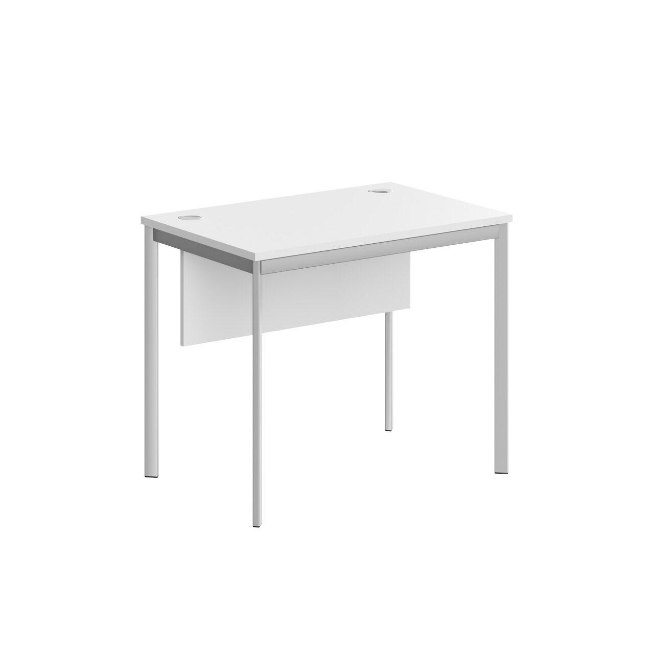 Стол прямой с фрональной панелью  IMAGO-S 90x60x76 - фото 2
