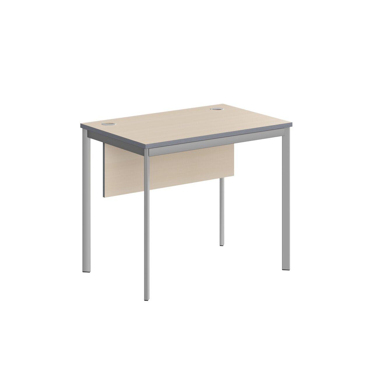 Стол прямой с фрональной панелью  IMAGO-S 90x60x76 - фото 5