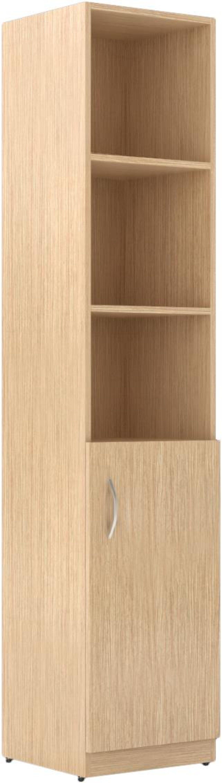 Шкаф пенал комбинированный правый  Simple 38x39x182 - фото 1