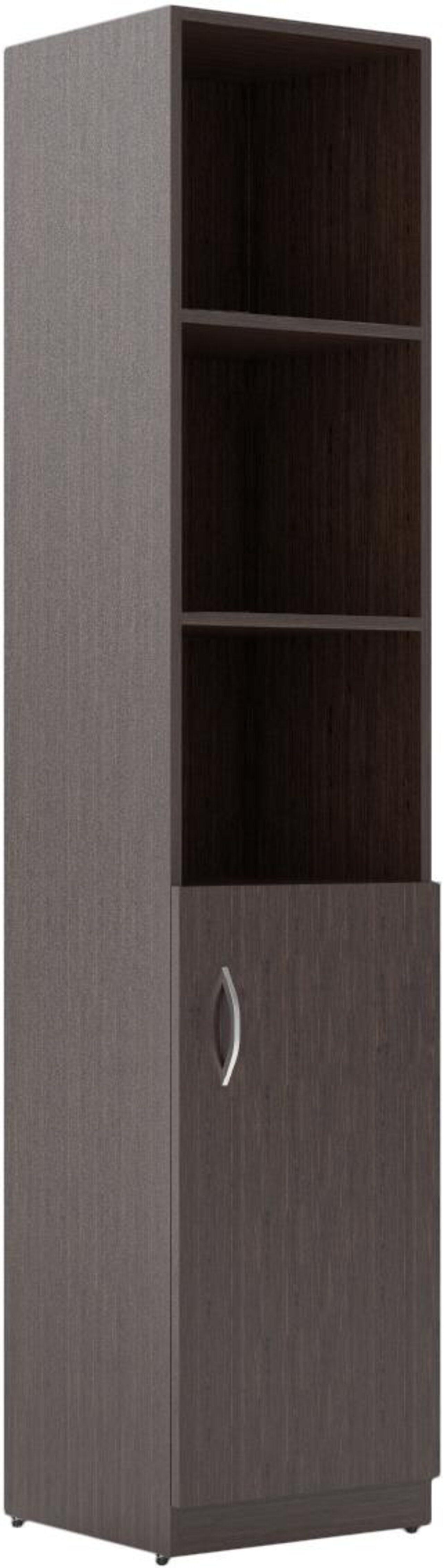 Шкаф пенал комбинированный правый  Simple 38x39x182 - фото 3