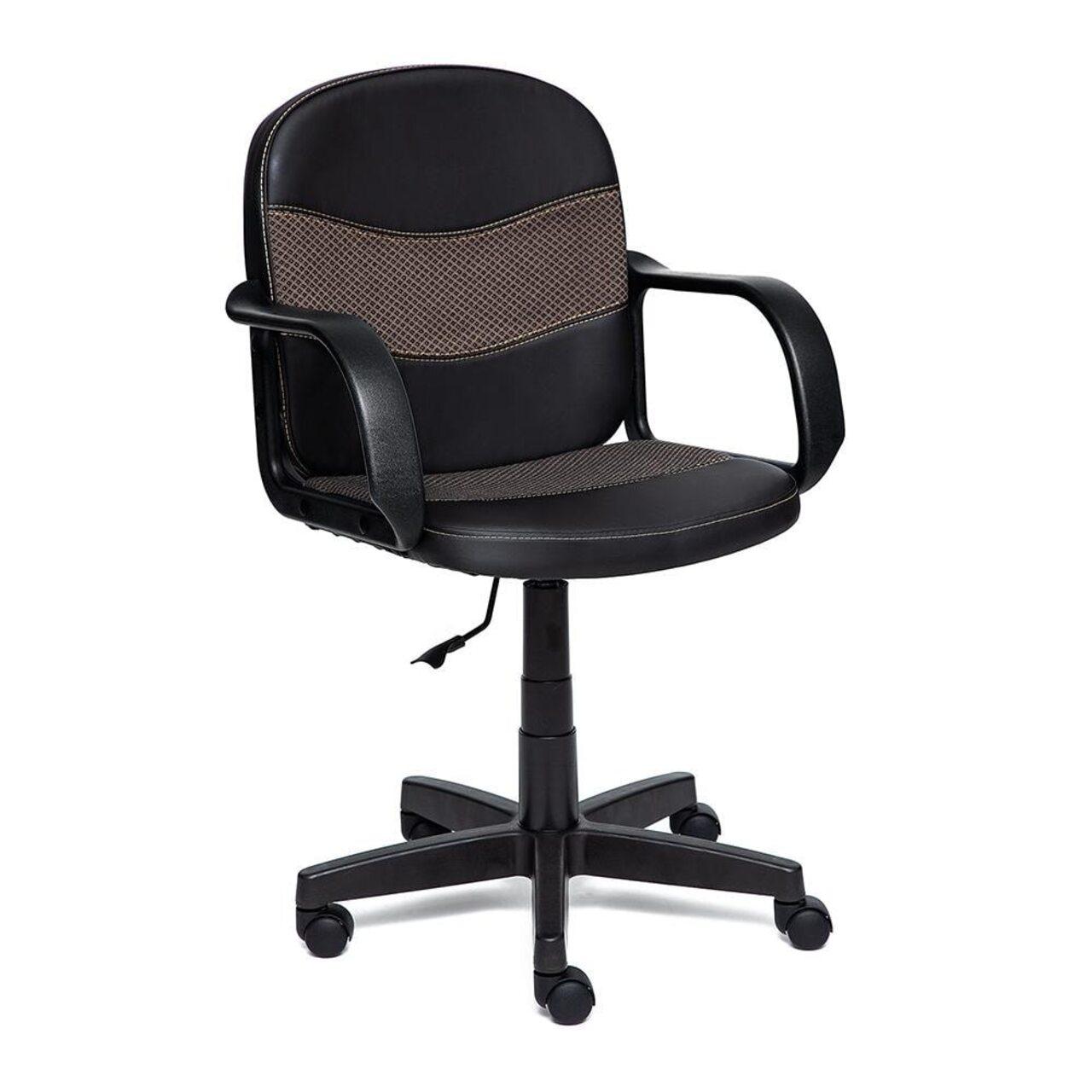 Кресло для персонала BAGGI (искусственная кожа + ткань) - фото 1
