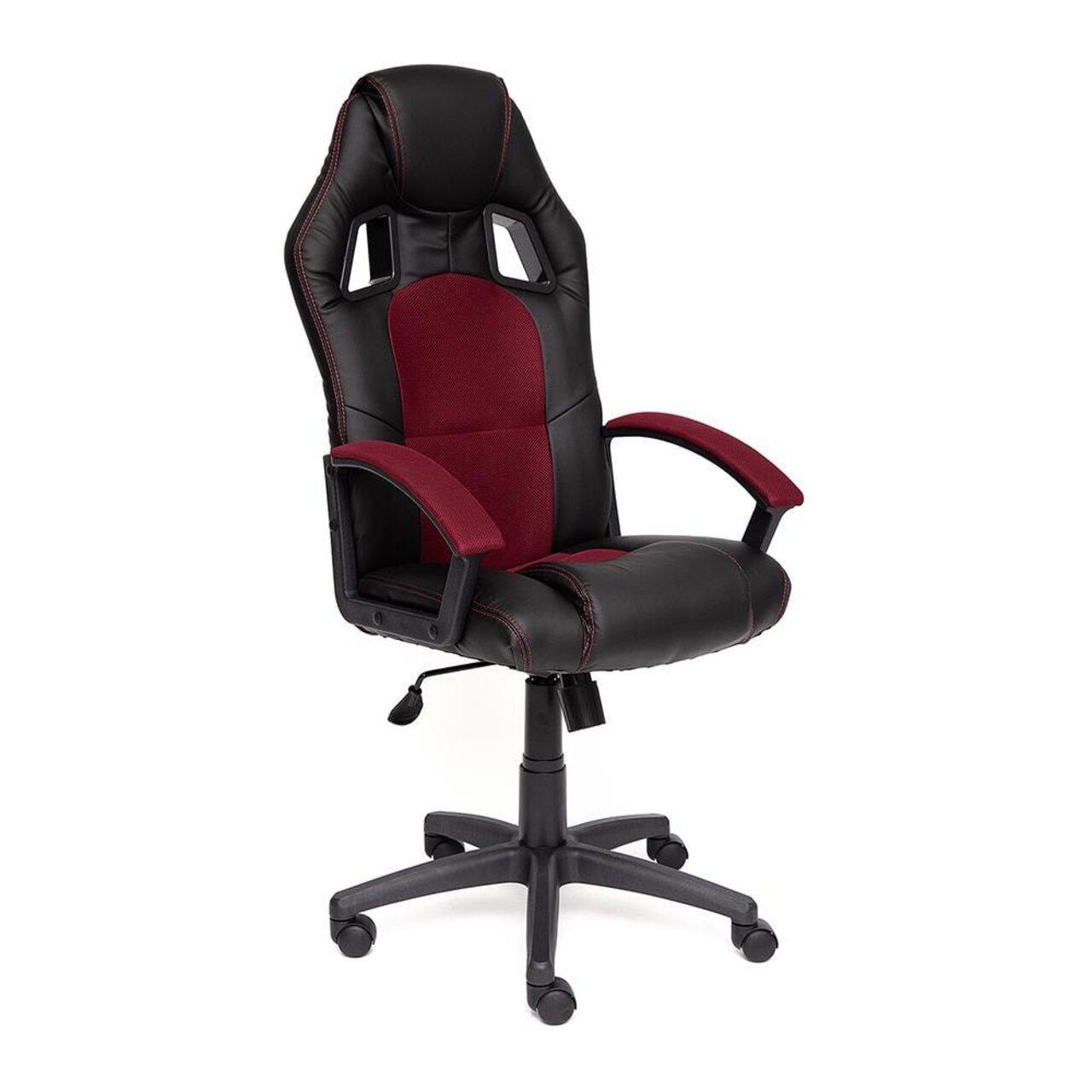 Кресло для руководителя DRIVER (искусственная кожа+ткань) - фото 8