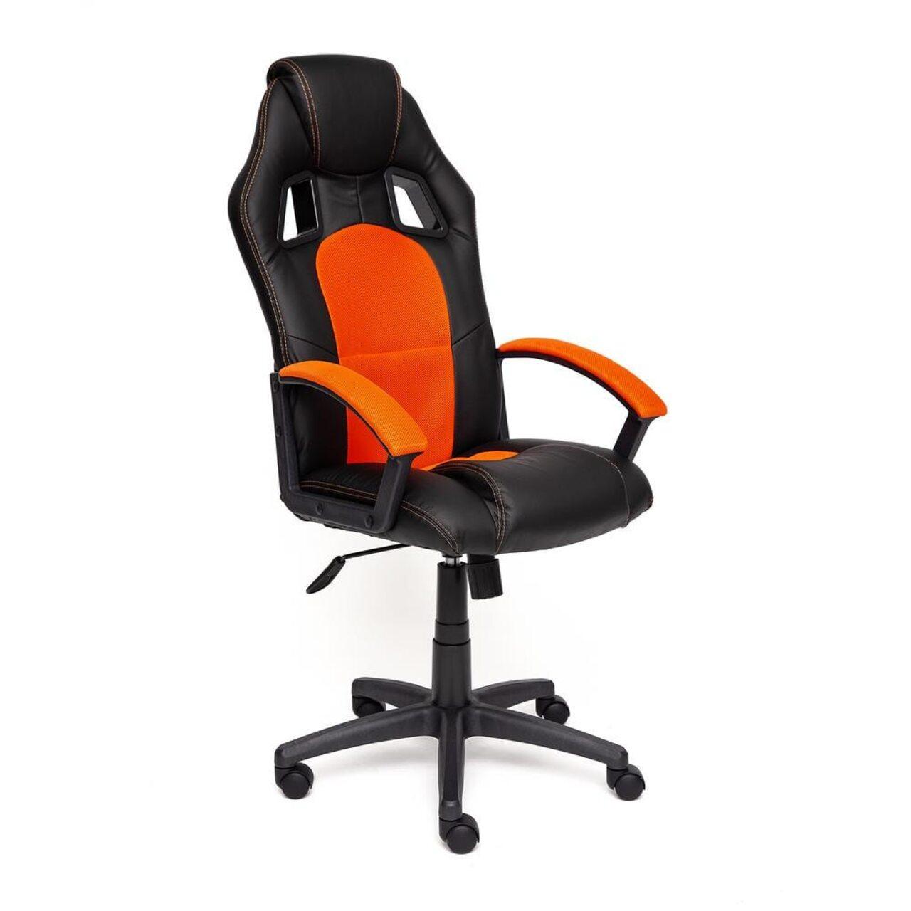 Кресло для руководителя DRIVER (искусственная кожа+ткань) - фото 10