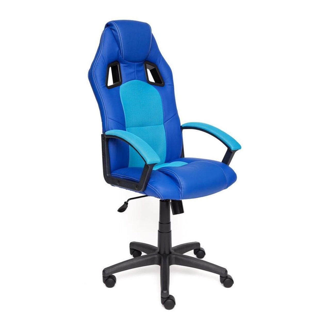 Кресло для руководителя DRIVER (искусственная кожа+ткань) - фото 7