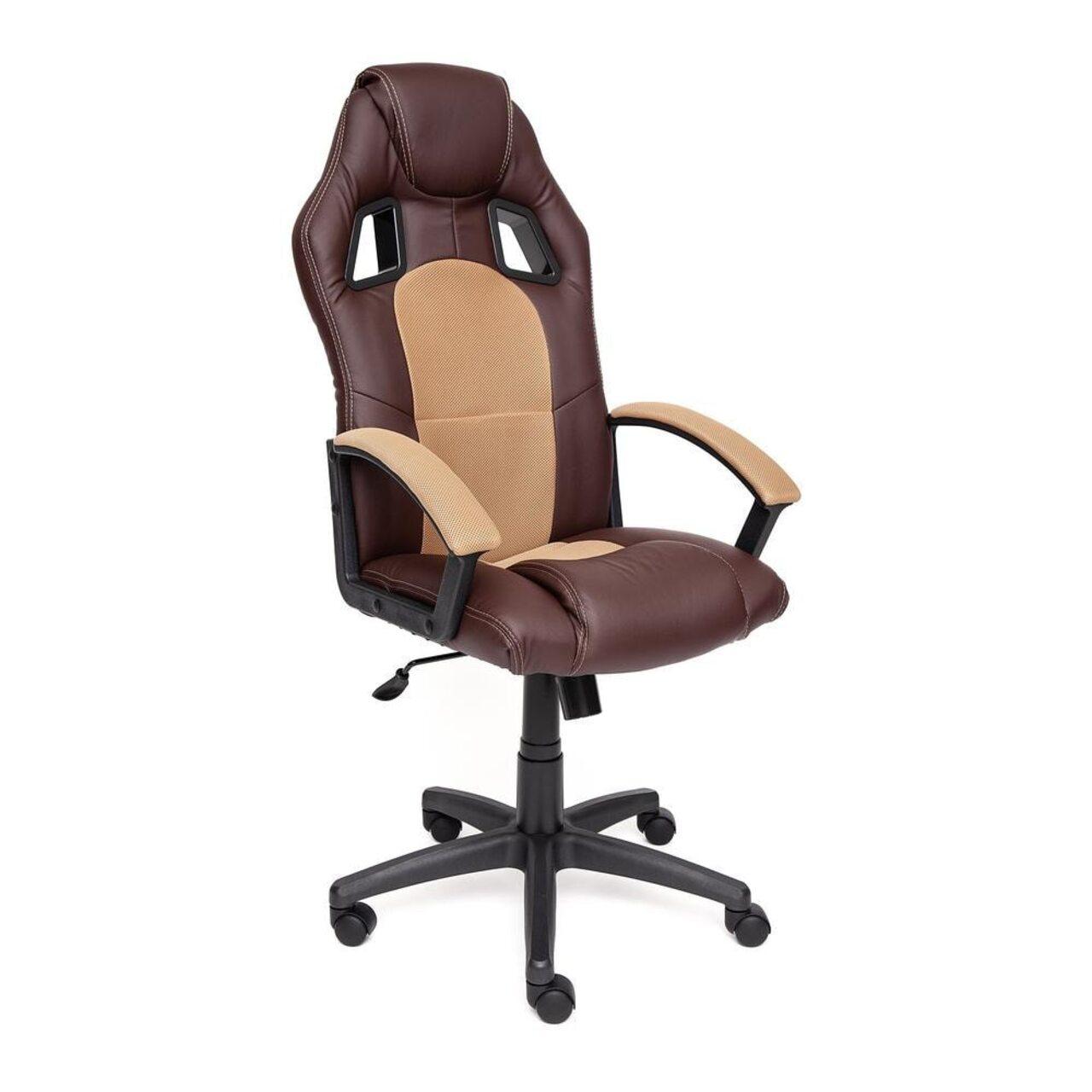 Кресло для руководителя DRIVER (искусственная кожа+ткань) - фото 5
