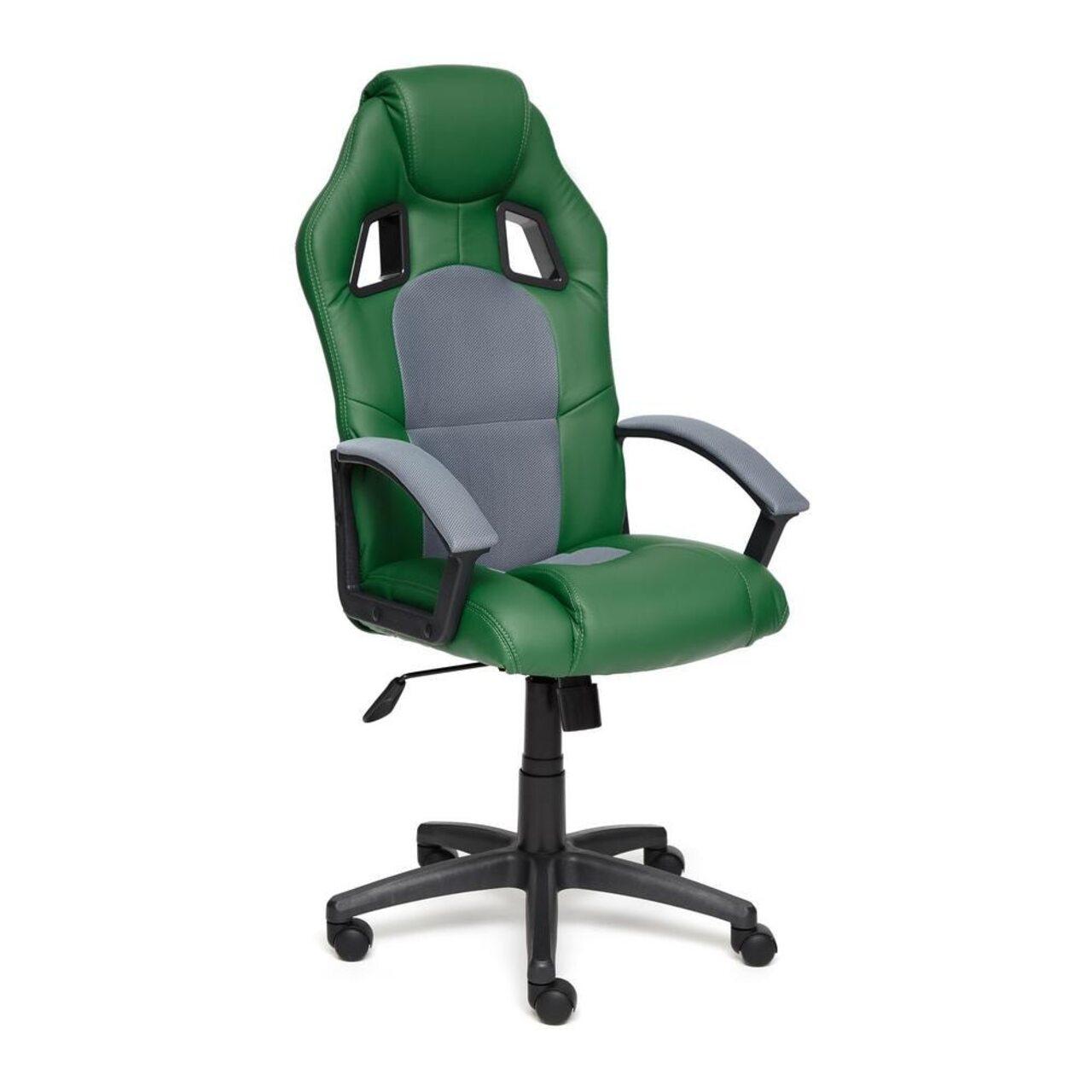 Кресло для руководителя DRIVER (искусственная кожа+ткань) - фото 4