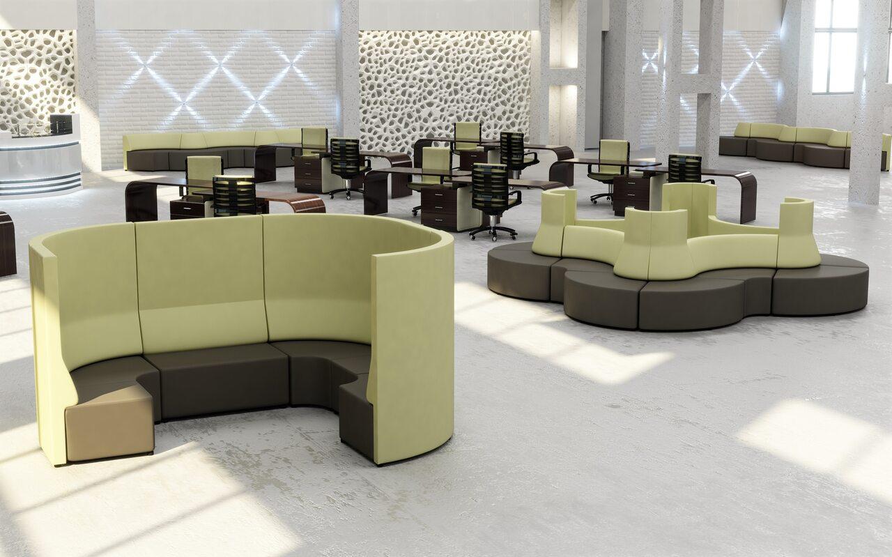 Мягкая офисная мебель М10 Meeting area - фото 2